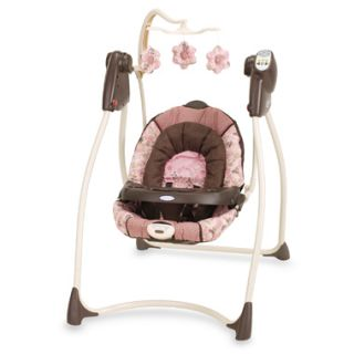 Brown Soothing Vibrations ALANO Baby Swing Music Heart Beat