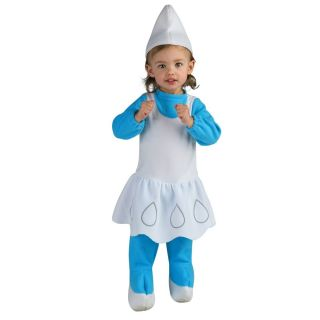 infant smurfs movie costume hat romper cartoon halloween baby infant