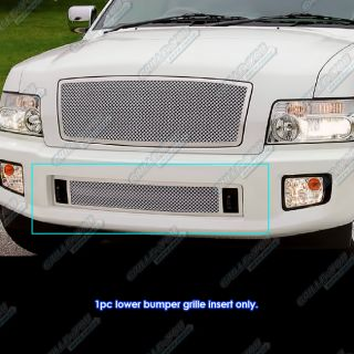 04 10 Infiniti QX56 Bumper Stainless Steel Mesh Grille