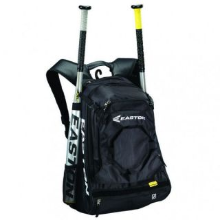Easton Walk Off 2 Baseball Softball Bat Pack Backpack Bag Black Black