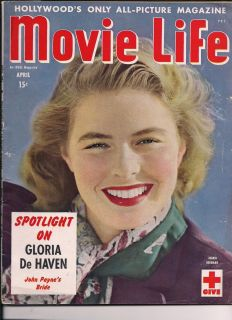 MOVIE LIFE 1945 INGRID BERGMAN ROBERT TAYLOR VERONICA LAKE PAYNE