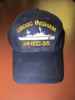 US Coast Guard USCGC Ingham WHEC 35 Baseball Cap