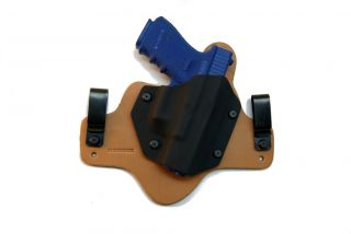 Glock 19 23 32 Holster Concealed Carry Inside Waistband Hybrid Kydex