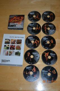 Insanity Workout 10 DVD Set