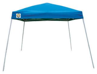 133958 10 x 10 Blue Shade Tech Instant Canopy