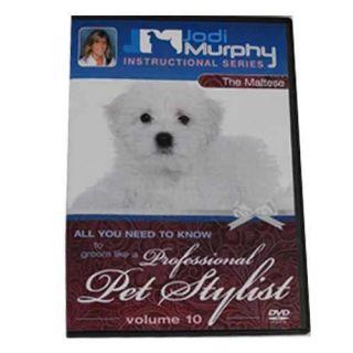 Jodi Murphy Instructional Series DVD Volume 10 Maltese