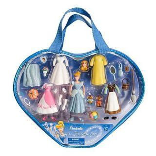 Disney World Princess Cinderella Polly Pocket Fashion Playset