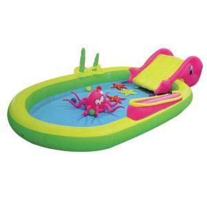 10ft Kids Inflatable Sea Animal Play Pool Slide Games