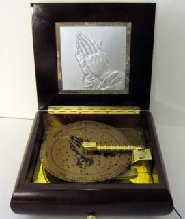 Mr Christmas Symphonium Inspirational Music Box With 10 Disks EUC