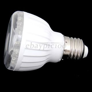 E27 Infrared Motion Sensor 23 LED White Light Bulb Lamp