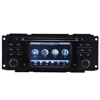 Pacifica Car GPS Navigation Bluetooth IPOD Radio MP3 TV DVD Unit