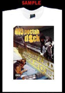 Inspectah Deck Wu Tang Clan Custom T Shirt Tee Rap T67