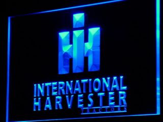 D133 B International Harvester Tractor Neon Light Sign