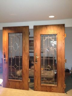 Interior Doors Glass French Frosted Glass Door 2 0 X 6 8 X 1 3 8 Thick Wood