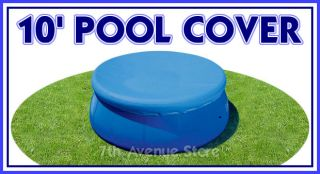 10 ft Intex Easy Set Above Ground Swimming Pool Cover