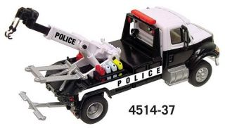 Boley HO 1 87 Scale Police International Tow Truck