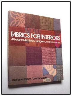 and appropriate selection and use of fabrics in interior design