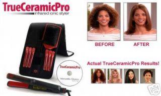 True Ceramic Pro Ionic Flat Iron Hair Straightener