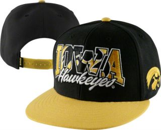 Iowa Hawkeyes 47 Brand Infiltrator Adjustable Snapback Flat Bill Hat