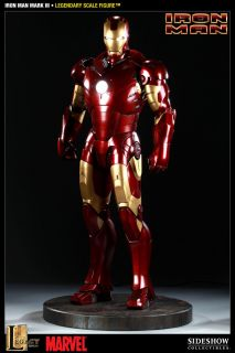 Sideshow Collectibles Iron Man Mark III 1 2 Legendary Scale HUGE Ltd