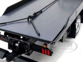 International Durastar 4400 Flat Bed Tow Truck 1 24 Wht
