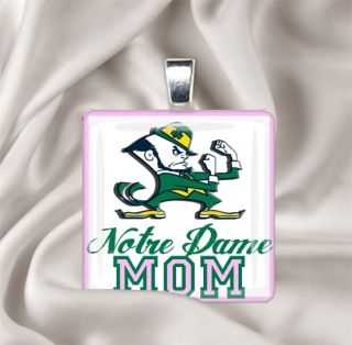 Pendant Necklace Notre Dame Fighting Irish College Team Spirit