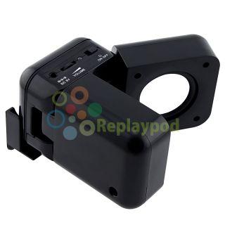 Black Portable Dock Speaker for iPod Nano Mini CD