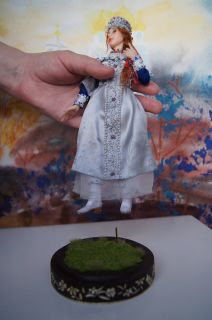 OOAK Art Doll Russian Princess by Irene Setyaeva
