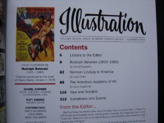 2009 Illustration Art Magazine Issue 27 Rudolph Belarski Norman