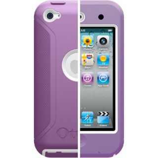 OtterBox Defender Case for iPod Touch 4G 4th Gen, Purple / White, New