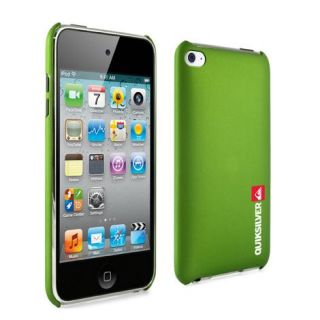 4THGEN 4G iPod Touch Case Quiksilver Green Hard Skin Snap on