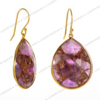 IPPOLITA Rock Candy Bronze Amethyst Teardrop Earrings