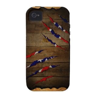 Scratched Wood Southern Pride!   iPhone 4/4s Case Mate iPhone 4 Case