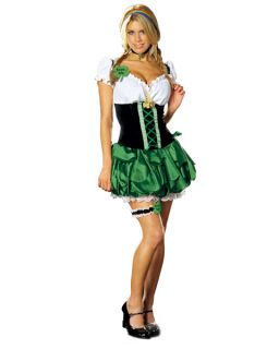 Adult St Patricks Day Good Luck Charm Costume