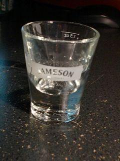 Jameson Irish Whiskey Shot Glass New