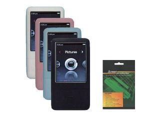 Skin Cover Case w/Screen Protector for iRiver E100 4GB 8GB  Player