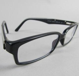 PRADA EYEGLASSES italian black PRESCRIPTION EYE glasses VPR 01M 100