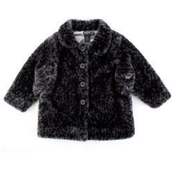 Iron Fist Clothing Love Cats Faux Leopard Fur Coat