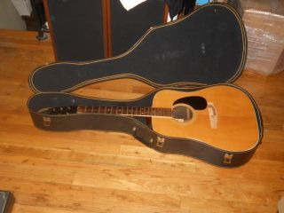 Carlos No 275 Acoustic Guitar in Case Restore Repair