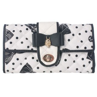 Iron Fist Ladies Bowed Over Purse Wallet New