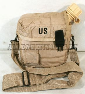 USA Made Military Issue 2 Qt Desert Tan Canteen 2qt Tan Cover Strap