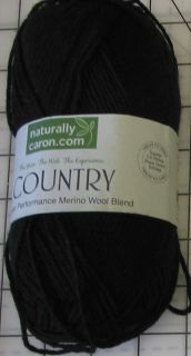 Naturally Caron Country Yarn Merino Wool Blend Worsted Assorted Colors