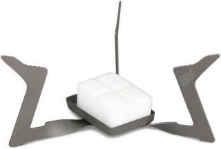 Esbit Titanium Solid Fuel Stove Lightweight Portable Camping Hiking