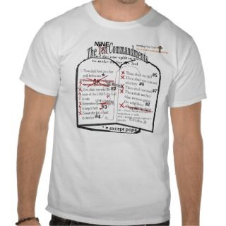 Catholic Ten Commandment shirt