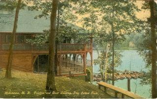 Pavilion Boat Landing Pine Island Park Manchester NH