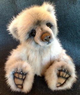Fur Realistic 10 Baby Bear by Teddy Bear Artist Jenea Ivey