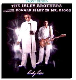 The Isley Brothers New MD Med Black Concert T Shirt Tee