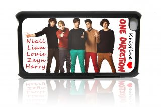 One Direction iPod Touch 4th Generation Hard Case Personalized