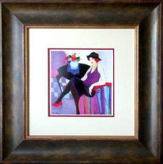 Itzhak Tarkay Anna Marie Lithograph Framed