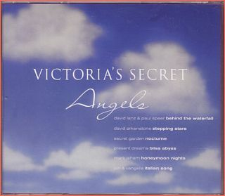 DAVID LANZ, PAUL SPEER, MARK ISHAM + ~ VICTORIAS SECRET ANGELS ~ CD